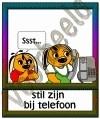 Stil zijn bij de telefoon - GEBR