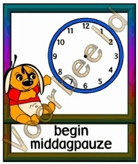 Begin middagpauze - KLOK