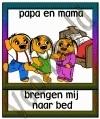 Papa en mama brengen mij naar bed (m) - GEBR