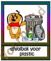 Afvalbak voor plastic - MAT
