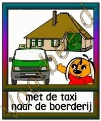 Met de taxi naar de boerderij - ZorgH
