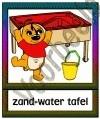 Zand-water tafel - KAST-T