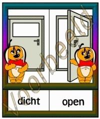 Dicht - Open