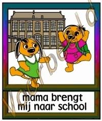 Mama brengt mij naar school (M)  - SCH