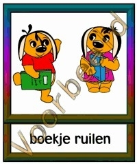 Boekje ruilen - WRK