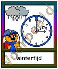 Wintertijd - KLOK