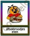 Afbakbroodjes eten - ETDR