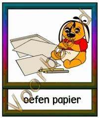 Oefen papier - WERKMAT