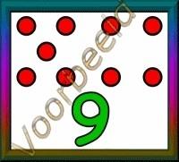 9 stippen