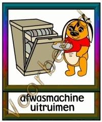 Afwasmachine uitruimen - TK