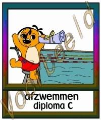 Afzwemmen diploma C