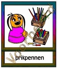 Prikpennen - WERKMAT