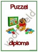 Puzzel  - Diploma