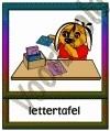 Lettertafel - KAST-T