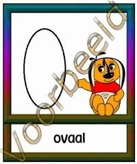 Ovaal Leeg