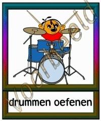 Drummen oefenen