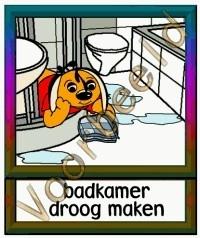 Badkamer droog maken - TK