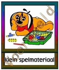 Klein spelmateriaal - WERKMAT