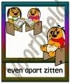 Even apart zitten - GEBR