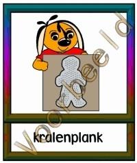 Kralenplank - WERKMAT