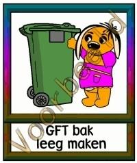 GFT bak leeg maken - TK