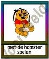 Met de hamster spelen - DIE