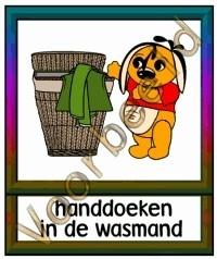 Handdoeken in de wasmand - TK