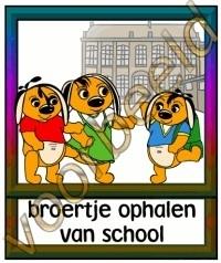 Broertje ophalen van school - SCH