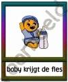 Baby krijgt de fles - ETDR