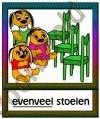 Evenveel stoelen - BEGR