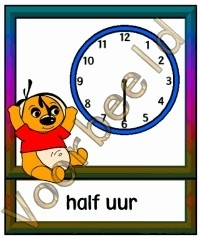 Half uur - KLOK