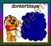 Donkerblauw