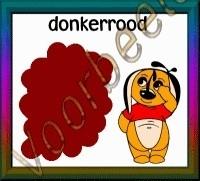 Donkerrood