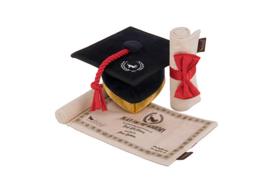P.L.A.Y. Pet  Grad cap & Diploma toy