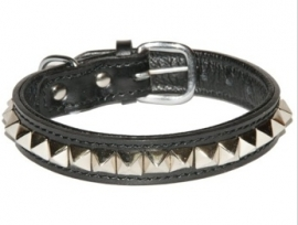 Bobby Pyramid Rock Halsband met Riem 40 cm, 45 cm en 50 cm I 105 cm