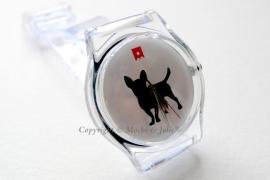 Chihuahua horloge Mochi & Jolie