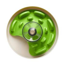 PetDreamHouse SPIN Interactive Feeder UFO Maze Green