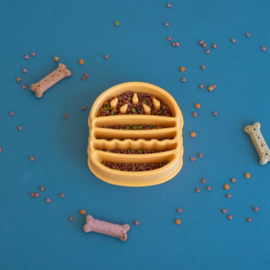 ZippyPaws Happy Bowl Hamburger