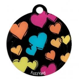 FuzzYard Penning Sketchy Hearts