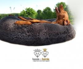 Bessie + Barnie Bagel Wolfhound Grey