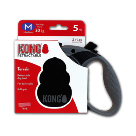 Kong Retractable Leash Terrain Black