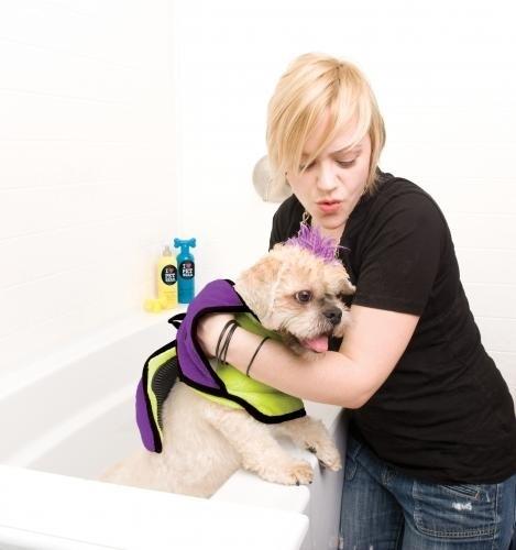 Pet Head scrubby handdoek