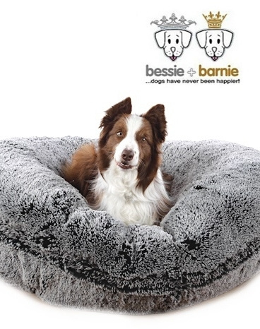 Bessie + Barnie Bagel Bed Midnight Frost