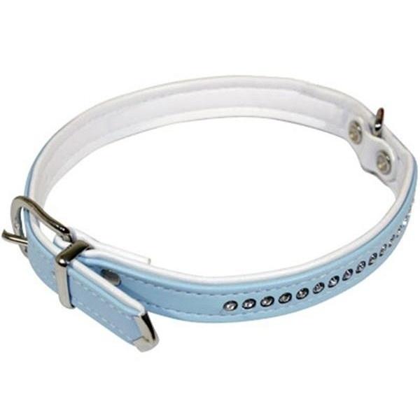 Hunter Swarovski Halsband Zwart, Wit, Licht Blauw, Licht Roze 27 cm