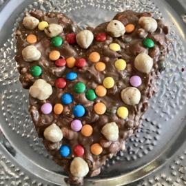 DIY / Online Chocolade Hart maken