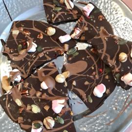 Online Breek chocolade thuis maken