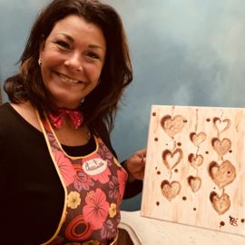 Inloop-workshop Schilderen met Chocolade , 19 april 2020