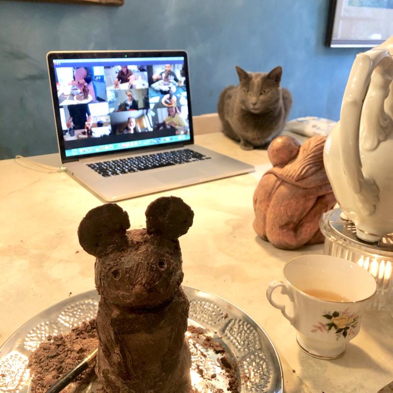 DIY / Online Beeldhouwen met Chocolade