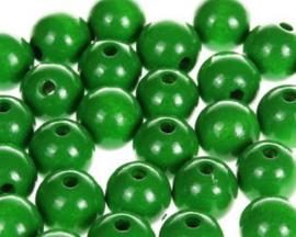 Houtenkraal ø12mm Groen 25st.