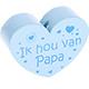 Ik hou van papa Babyblauw